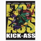 Kick Ass Movie Poster by the2ndbest