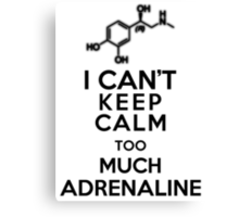 Adrenaline Canvas Print