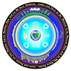Mother Earth Gaia Mandala by Martin Rosenberger