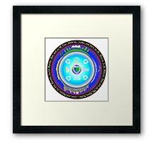 Mother Earth Gaia Mandala Framed Print