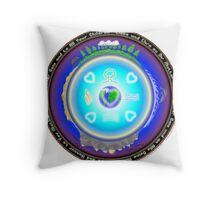 Mother Earth Gaia Mandala Throw Pillow