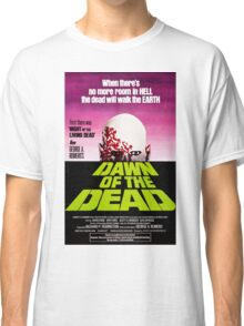 Dawn Of The Dead Movie Poster Classic T-Shirt