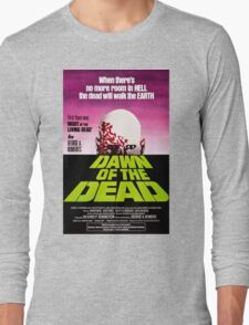Dawn Of The Dead Movie Poster Long Sleeve T-Shirt