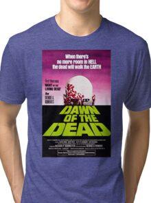 Dawn Of The Dead Movie Poster Tri-blend T-Shirt