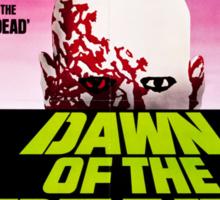 Dawn Of The Dead Movie Poster Sticker