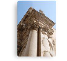 Column, Basilica di Santa Croce Metal Print