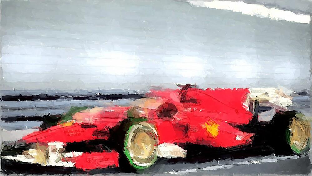 Ferrari Formula One by Mustafa Sural