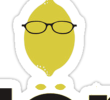 Liz Lemon (Blerg) Sticker