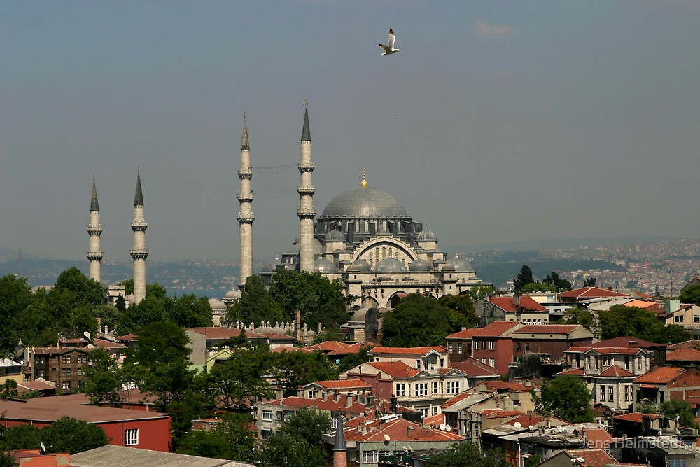 Suleymaniye Mosque by Jens Helmstedt