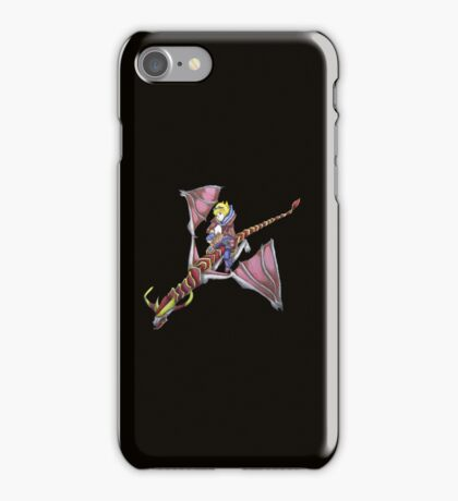 Ezreal riding Shyvana as Eragon with Saphira iPhone Case/Skin