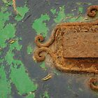 Rusted and Peeling Door by jojobob