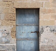 Blue Door in Acaya by jojobob