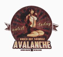 AVALANCHE Wants YOU! STICKER by MeganLara