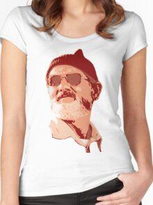 Bill Murray - Zissou Women's Fitted Scoop T-Shirt