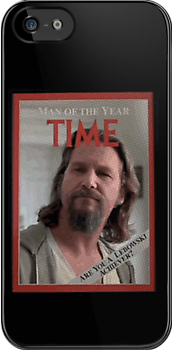The Dude - Time Magazine Man of the Year by Paul Mitchell