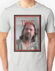 The Dude - Time Magazine Man of the Year T-Shirt