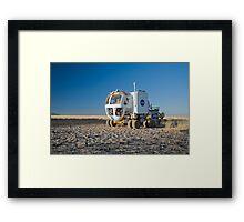 The Martian Truck Framed Print