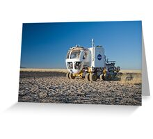 The Martian Truck Greeting Card