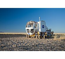 The Martian Truck Photographic Print