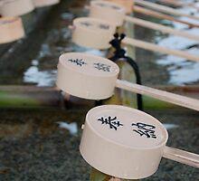 Purification Fountain at Ryoanji Temple by jojobob