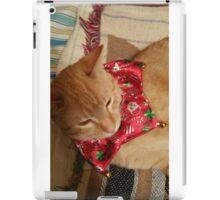 Xmas kitty iPad Case/Skin