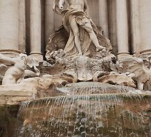 Oceanus Statue in the Trevi Fountain by jojobob