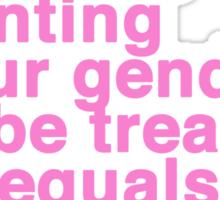 Feminazi Sticker