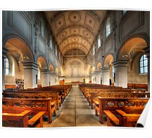 Predigerkirche Zurich (Preacher's Church) Poster