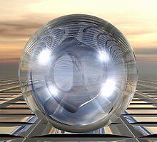 Three Spheres by Benedikt Amrhein
