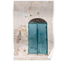 Door in Caveoso Sassi, Matera Poster