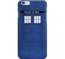 Doctor Who - Tardis (Textured) iPhone Case/Skin