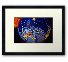 Tealight Framed Print