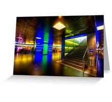 Hauptbahnhof Underground Greeting Card