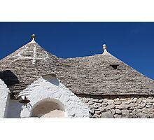 Symbol on Trullo Roof Photographic Print