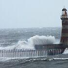 The crashing waves by Lorna Taylor