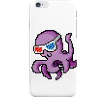 Cool 8-Bit Octopus iPhone Case/Skin