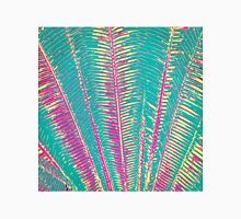 Girly Blue and Pink Tropical Palm Fronds Classic T-Shirt
