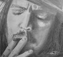 Johnny Depp by shawwayne