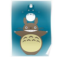 Totoro Totem with Detail Poster