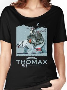 Thomax, Up North (Night) Women's Relaxed Fit T-Shirt