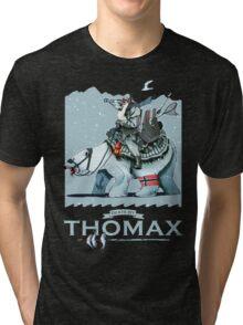 Thomax, Up North (Night) Tri-blend T-Shirt