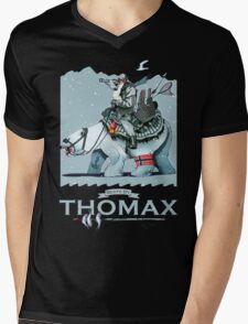 Thomax, Up North (Night) Mens V-Neck T-Shirt