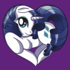 Rarity is my heart by Amelie  Belcher