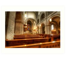 Grossmunster Church 2.0 Art Print