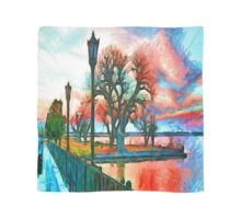 Sunset On The Lake Scarf
