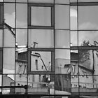 Black and White Windows by PhotoPrints