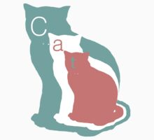 A Tail of Three Kitties in Pastel by TheCatLady