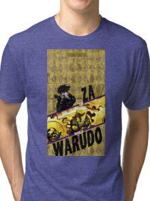 jojos bizarre adventure - DIO Tri-blend T-Shirt