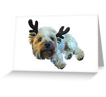 Dog Design 1 Greeting Card