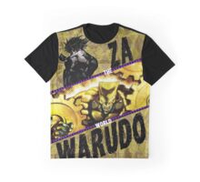 jojos bizarre adventure - DIO Graphic T-Shirt